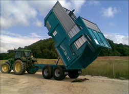 Rolland silage trailer